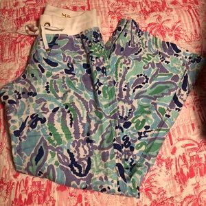 EUC Lilly Pulitzer beach pants size Medium